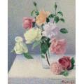 Букет роз в стакане - Ложе,  Ашиль