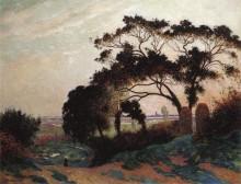 Пейзаж, холмы Геранд 1915 -  Пюигадо, Фердинанд дю