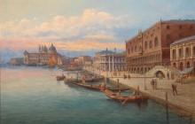 Венецианский пейзаж - Шварц, К.