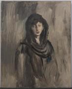 Фернанда в черной мантилье - Пикассо, Пабло