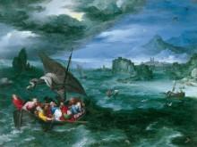 Шторм в море Галилейском - Брейгель, Ян (Старший)