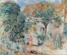 Сад в Бретани - Ренуар, Пьер Огюст