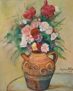 Букет цветов в испанском кувшине - Валадон, Сюзанна