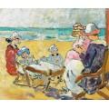 Семья на пляже - Вальта, Луи