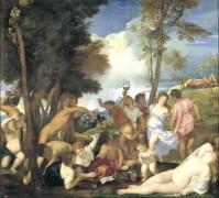 Вакханалия, 1524 - Тициан Вечеллио