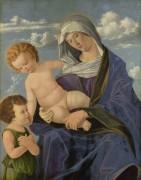 Мадонна с младенцем и  святым Иоанном - Катена, Винченцо