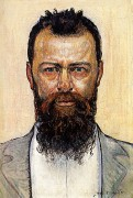 Автопортрет. 1900 - Ходлер, Фердинанд