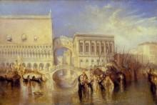 Венеция, Мост  Вздохов - Тернер, Джозеф Мэллорд Уильям