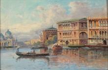 Венецианский пейзаж - Кауфман, Карл
