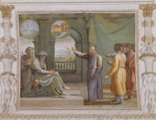 Иосиф толкует сны фараона - Рафаэль, Санти