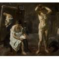 Три женщины в мастерской - Бекман, Макс
