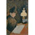 Женщина с лампой - Синьяк, Поль