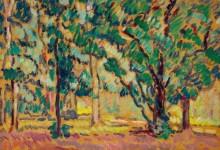 Лесной пейзаж - Вальта, Луи