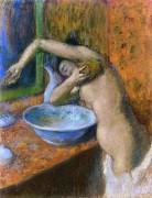 Женщина за туалетом, 1892 - Дега, Эдгар