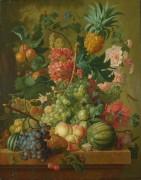 Цветы и фрукты - Брюссель, Паулюс Теодор ван