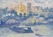 Набережная Пасси, 1899 - Кросс, Анри Эдмон
