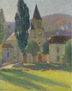 Henri Martin - Церковь в Лабасти-дю-Вер - Мартен, Анри Жан Гийом