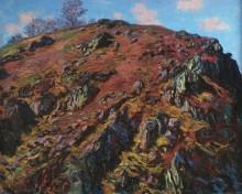 Скалы в долине Крёз - Моне, Клод