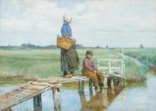 На рыбалке - Лэнгли, Уолтер