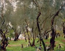 Оливковая роща - Сарджент, Джон Сингер