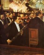 Оркестр оперы, 1869 - Дега, Эдгар