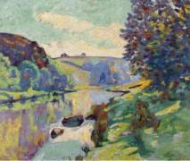 Скала Эхо в Крозан, 1905 - Гийомен, Арманд