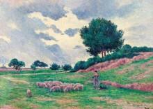 Меревиль, отара овец, 1902-03 - Люс, Максимильен