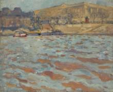 Набережная Сены у Лувра - Вальта, Луи