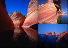 Гора и отражение_3