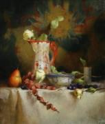 Кувшин, чаша и груши - Ридель, Давид