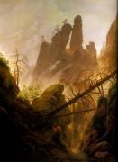 Скалистые ущелья, 1822-1823 - Фридрих, Каспар Давид