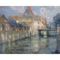 Канал весной,  1912 - Сиданэ, Анри Эжен Огюстен Ле