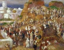 Арабский праздник в Алжире - Ренуар, Пьер Огюст