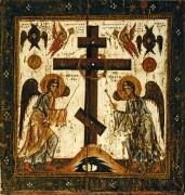 Прославление креста (вторая половина XII века) (77 х 71 см)