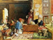 Интерьер школы в Каире - Льюис, Джон Фредерик