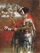 Музыкант на храмовой службе во время праздника кущей - Соломон, Симеон