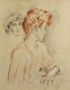 Две женщины - Эллё, Поль-Сезар