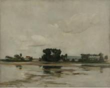 Пруд, 1884 - Твочтман, Джон Генри