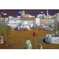 Арабский город, 1905 - Кандинский, Василий Васильевич