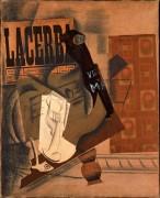 Гитара, трубка и бутылка Вьё Марк - Пикассо, Пабло
