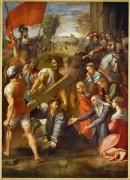 Падение Христа на пути к Голгофе - Рафаэль, Санти