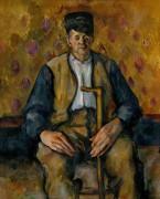 Сидящий крестьянин - Сезанн, Поль