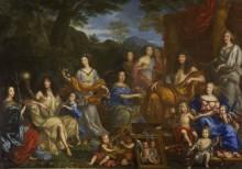 Людовик XIV и королевская семья - Нокре, Жан