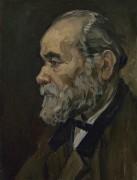 Портрет старика с бородой (Portrait of an Old Man with a Beard), 1885 - Гог, Винсент ван