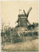 Мельница (Le Moulin de la Galette), 1887 - Гог, Винсент ван