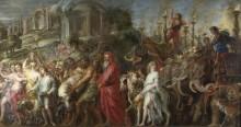 Римский Триумф -  Рубенс, Питер Пауль
