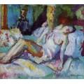 Спящая девушка - Манген, Анри
