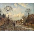 Дорога из Лувесьенна, 1872 - Писсарро, Камиль