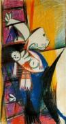 Женщина и мертвый ребенок, 1937 - Пикассо, Пабло