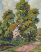 Дом возле дороги -  Бюхр, Карл Альберт
